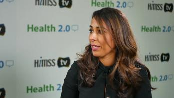 Aashima Gupta speaking on himss tv