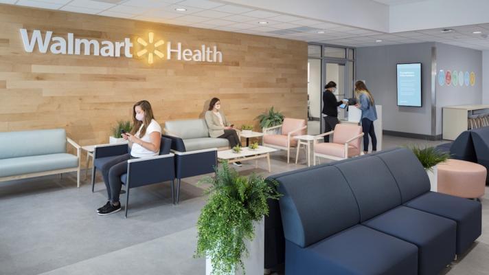Walmart Health clinic