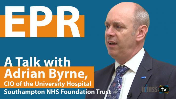 Adrian Byrne, CIO of the University Hospital Southampton NHS Foundation Trust