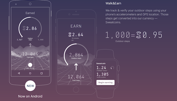 Digital currency-based fitness app Sweatcoin lands $5.7M in funding