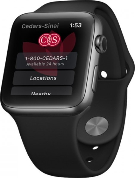 Cedars-Sinai launches Apple Watch app for patients