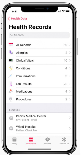 Apple S Ehr Feature Launched Last Week Here S What That