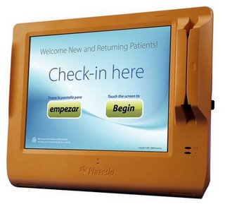 Phreesia Patient Check-In Tablet