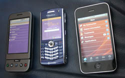 Android, iPhone, BlackBerry AllOne Mobile