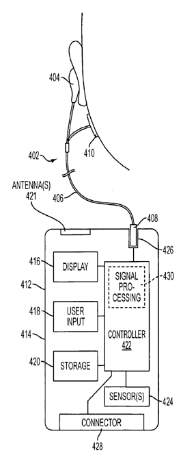 Apple patent wireless health sensors