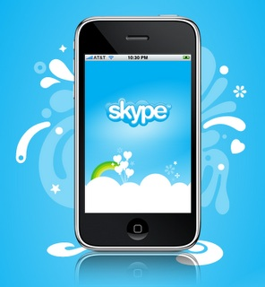Skype 4 iPhone App