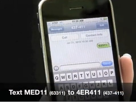 MetroWest Medical Center ER Wait Times SMS
