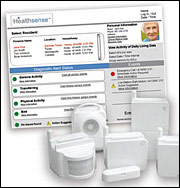 Healthsense monitoring for Verizon FiOS seniors