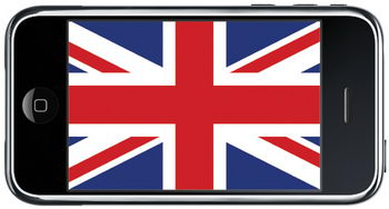 iPhone in the UK