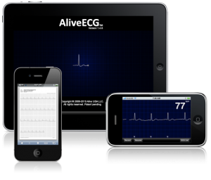 AliveCor's iPhone ECG
