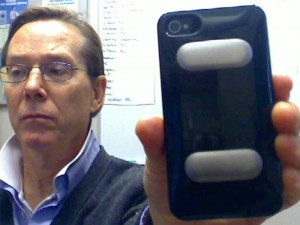 AliveCor's Dr David Albert and the iPhoneECG case (still pending FDA-clearance)