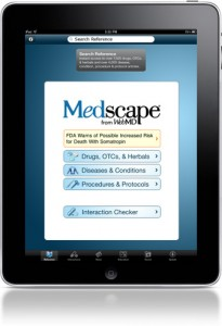 Mobile Health News Roundup Medscape For Ipad Amd Wags