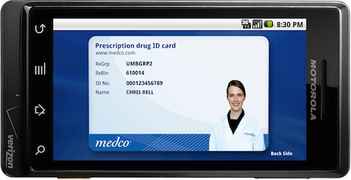 Medco Verizon offer personalized medication app
