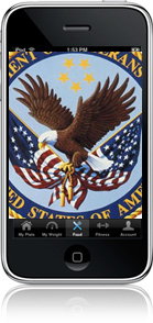 Veteran Affairs iPhone mockup