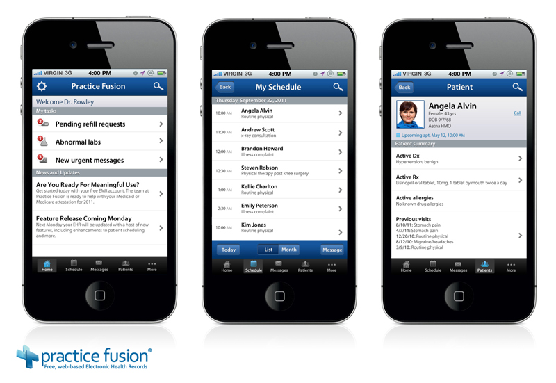 practicefusionios emr developer practice fusion announced native ios and