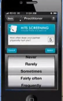 Abuse Screening App