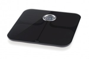 The Fitbit Aria connected weight scale.