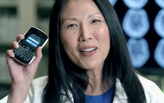 BlackBerry Bold Physician