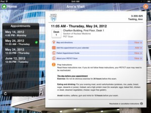 Mayo Clinic Patient iPad app