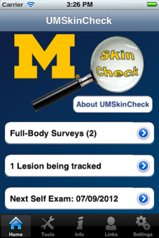 University of Michigan Health System offers skin cancer app