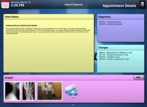 ChiroTouch CT Provider EHR iPad app