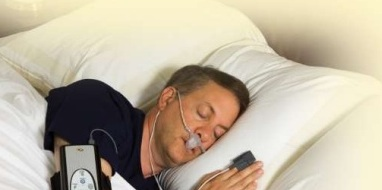 home sleep apnea test machine