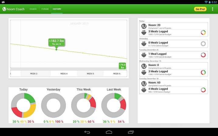 noom weight loss app for windows