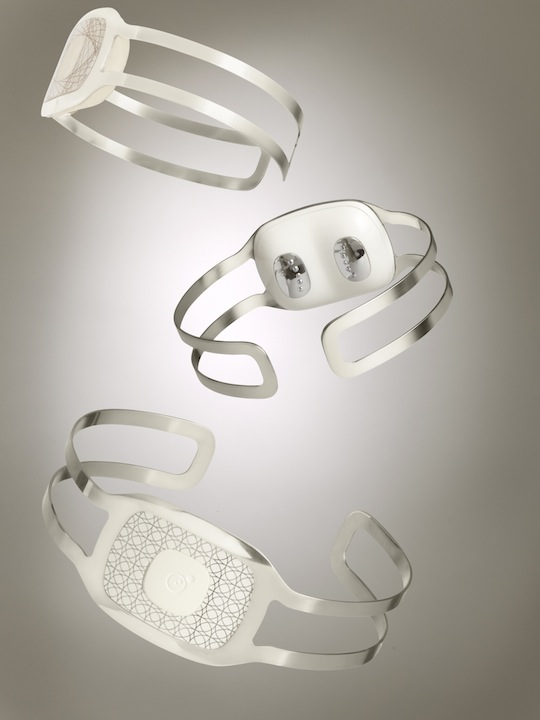 "The BodyMedia Core 2 Armband, with ""jewelry-like"" customization."