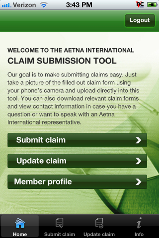 Aetna Mobile Assistant App
