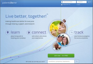 PatientsLikeMe has 200K users, calls for new lexicon