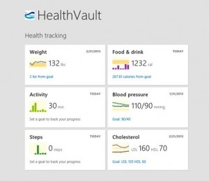 HealthVault Windows8