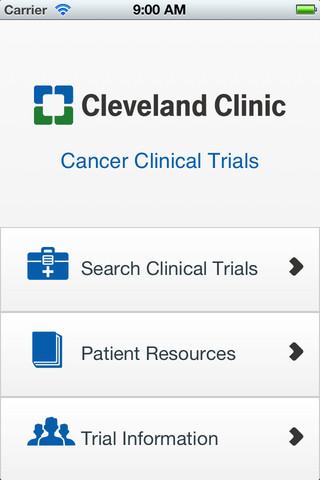 cleveland clinic clinical trials app