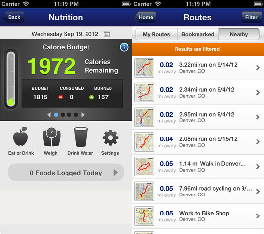 MapMyFitness Workout Trainer