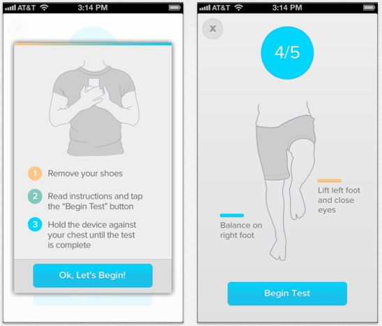 Sway nabs $750K for FDA-cleared balance assessment app