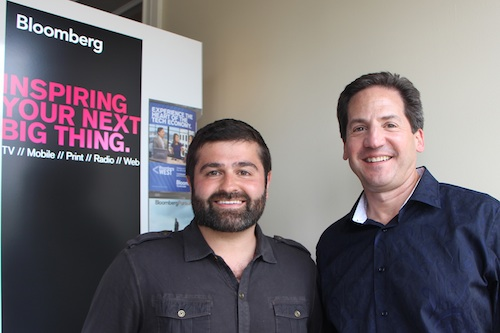 Slava Rubin, CEO of Indiegogo, and Greg Sebasky, Chairman of Philips North America.