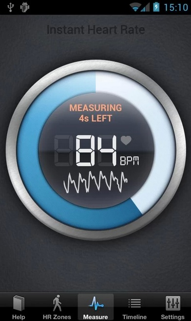 Azumio's Instant Heart Rate