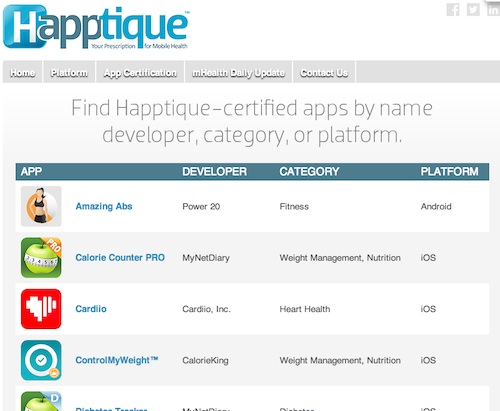 HapptiqueRegistry