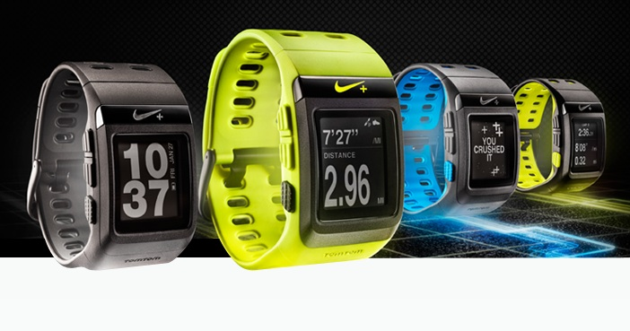 The latest version of Nike's SportWatch.
