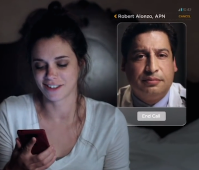 A state-side example of video comms with MDs: Verizon Wireless Virtual Visits