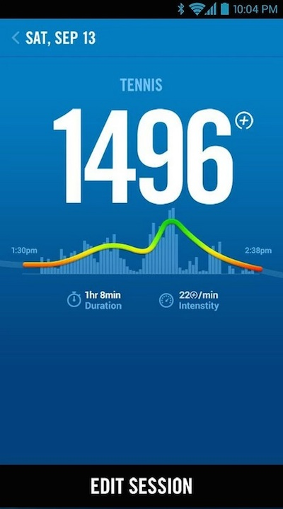 nike fuelband android support