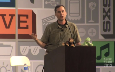Fogg speaking at SXSW last year.