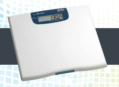 A connected weight scale from AMC Health.