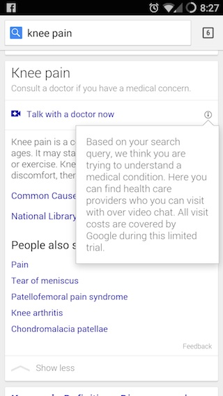 Google Helpouts Doctor Video Visit