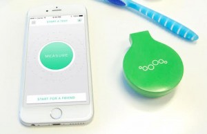 The Breathometer Mint, announced at CES.