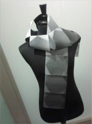 Microsoft shows off smart scarf prototype, updates Band