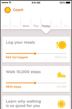 Noom Coach, the company's current consumer wellness app.