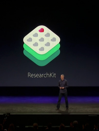 Apple medical ResearchKit