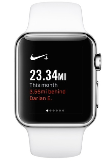 Nike Apple Watch app