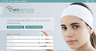 MedWatcher, from Epidemico.