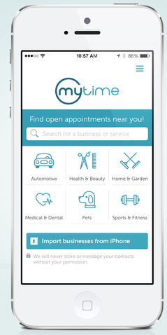 MyTime raises $9M for appointment booking app | MobiHealthNews
